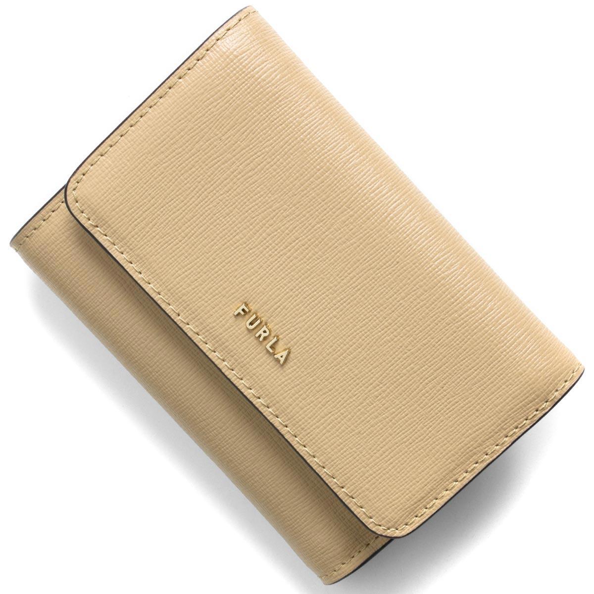 フルラ 三つ折り財布 財布 レディース バビロン スモール サンドベージュ PCZ0 B30 02B 1056946 FURLA