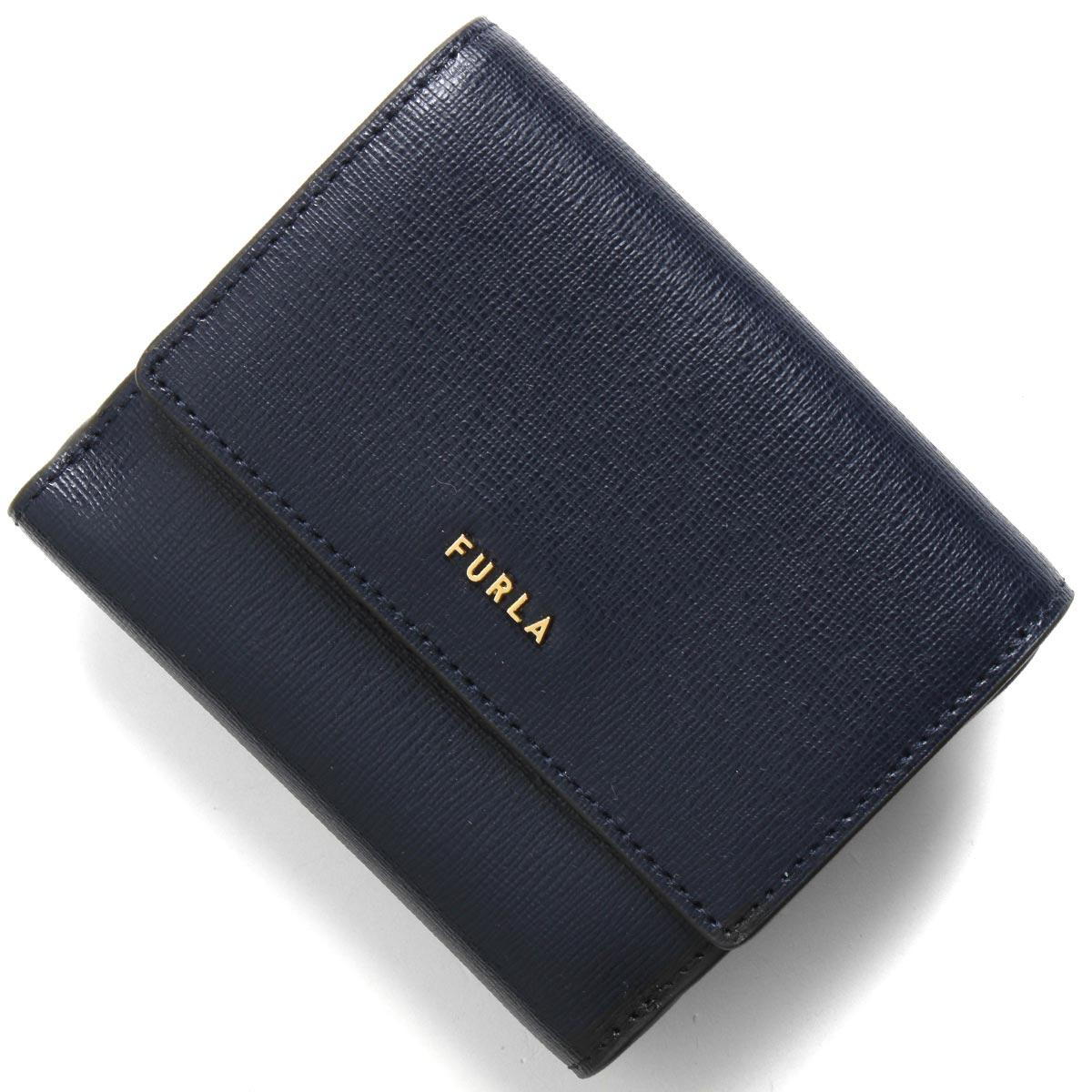 フルラ 二つ折り財布 財布 レディース バビロン スモール オセアノネイビー PCY8 B30 07A 1056973 FURLA