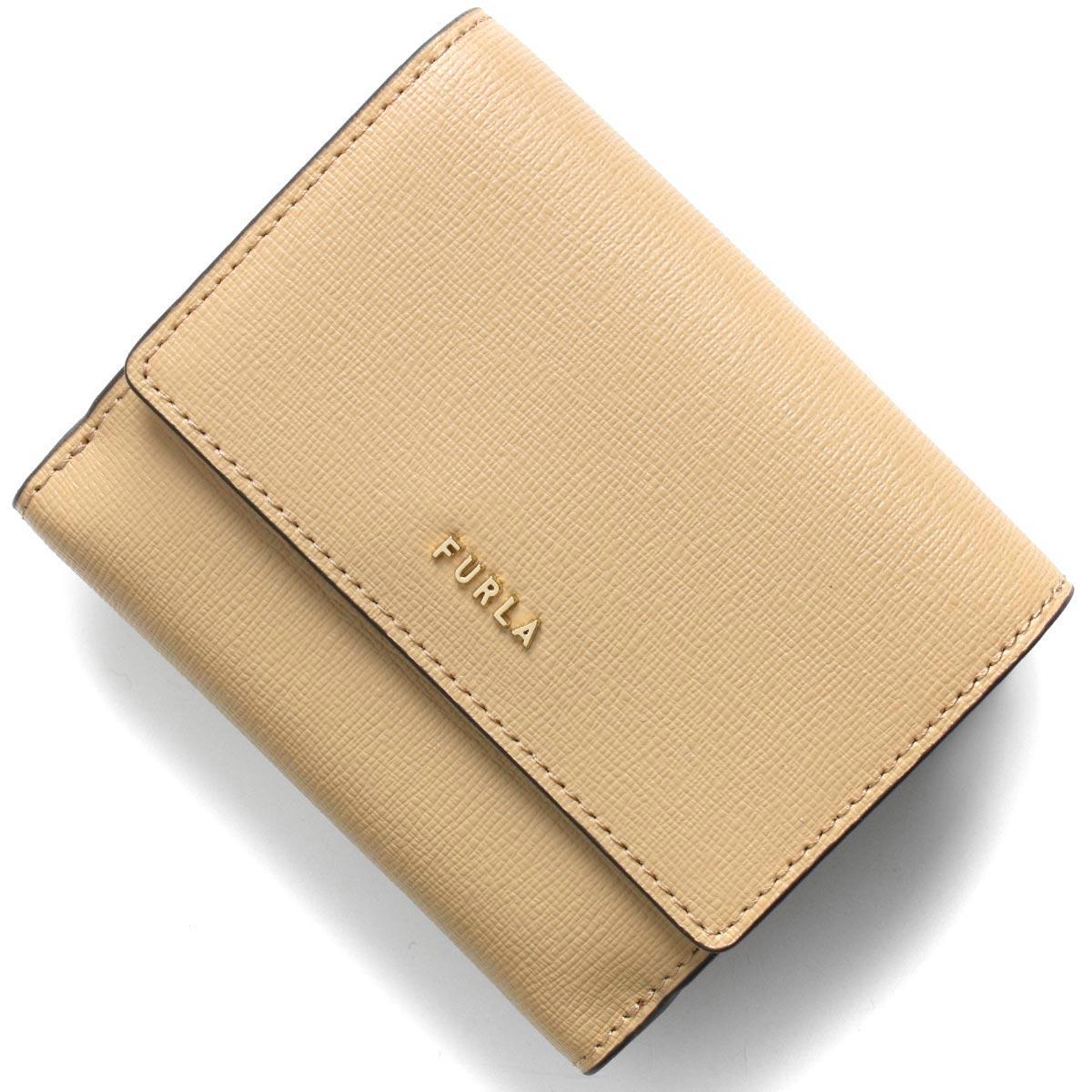 フルラ 二つ折り財布 財布 レディース バビロン スモール サンドベージュ PCY8 B30 02B 1056976 FURLA