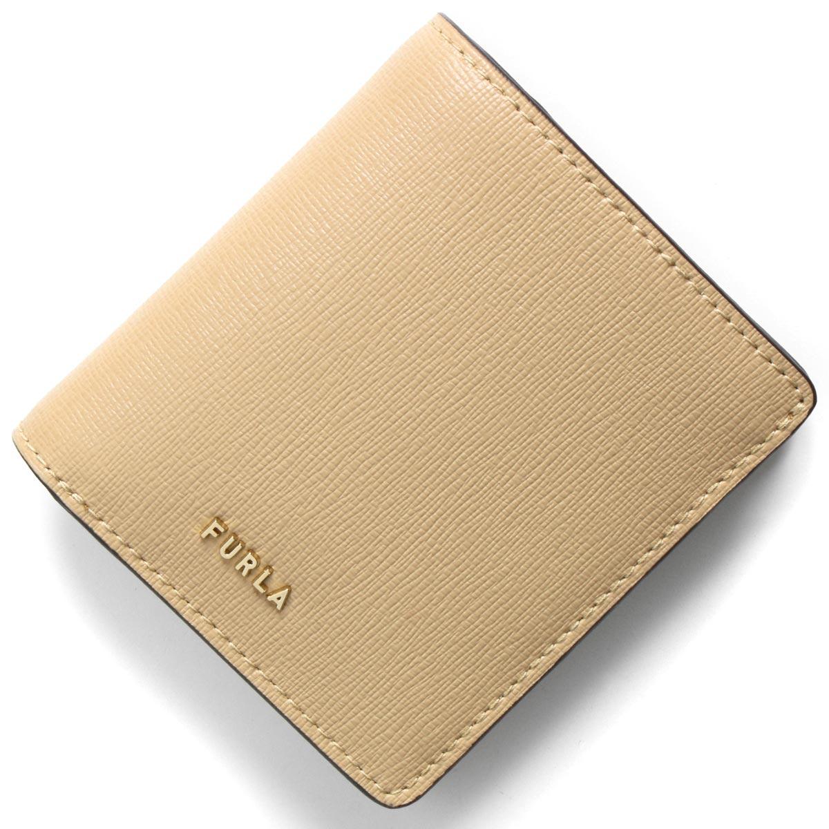 フルラ 二つ折り財布 財布 レディース バビロン スモール サンドベージュ PCY6 B30 02B 1057002 FURLA