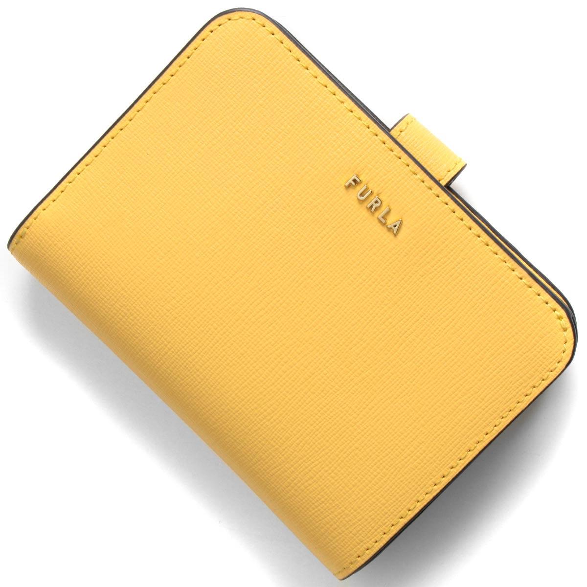 フルラ 二つ折り財布 財布 レディース バビロン スモール ソールイエロー PCY0 B30 01A 1057111 FURLA