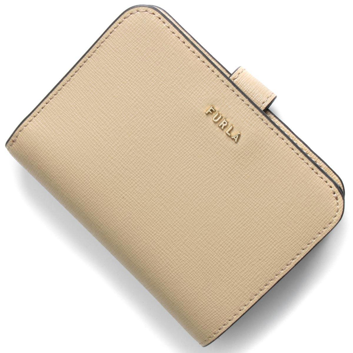 フルラ 二つ折り財布 財布 レディース バビロン スモール サンドベージュ PCY0 B30 02B 1057117 FURLA