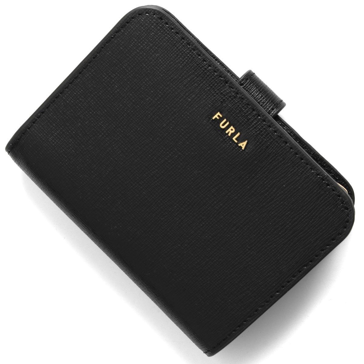 フルラ 二つ折り財布 財布 レディース バビロン スモール ブラック PCY0 B30 O60 1057122 FURLA