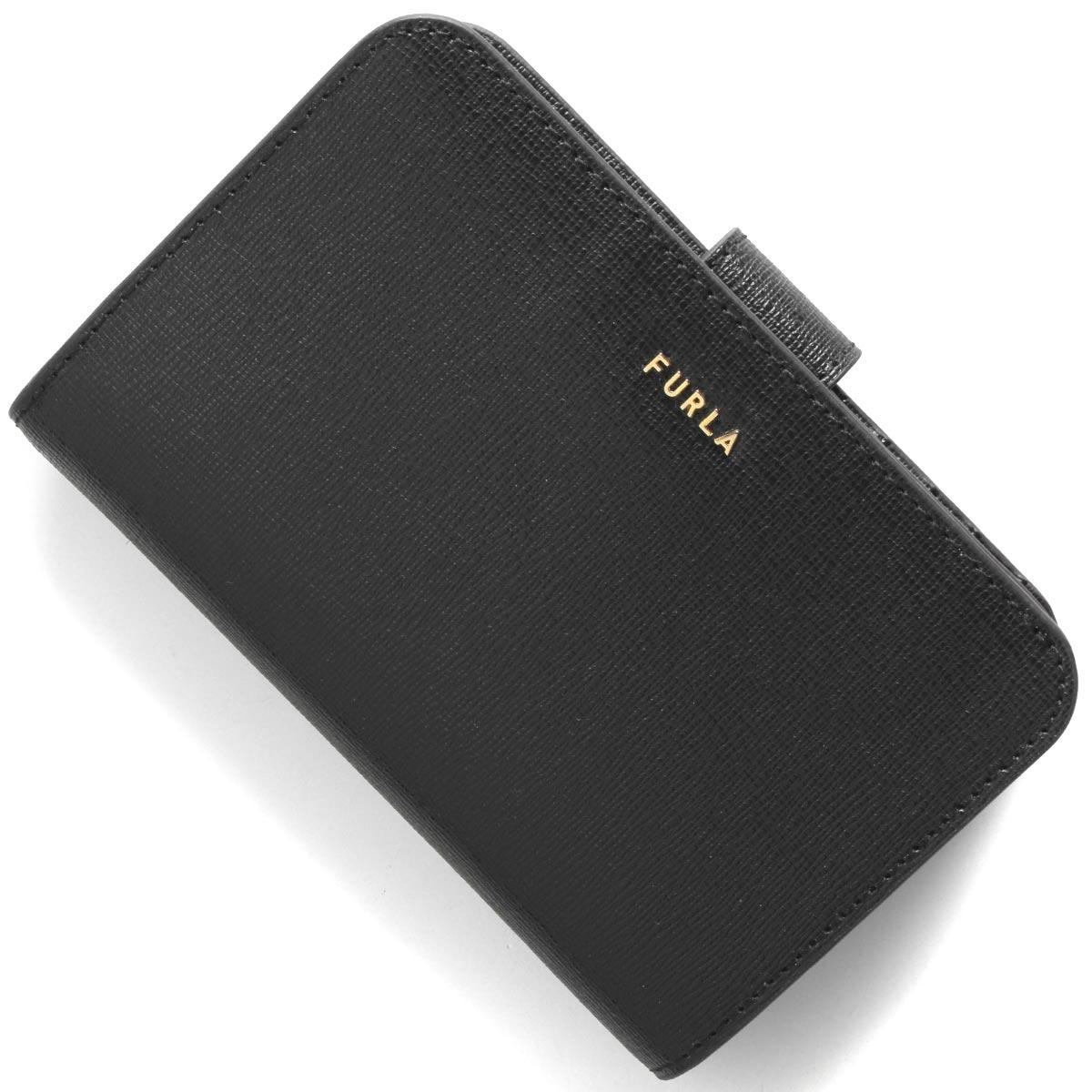 フルラ 二つ折り財布 財布 レディース バビロン ミディアム ブラック PCX9 B30 O60 1057129 FURLA