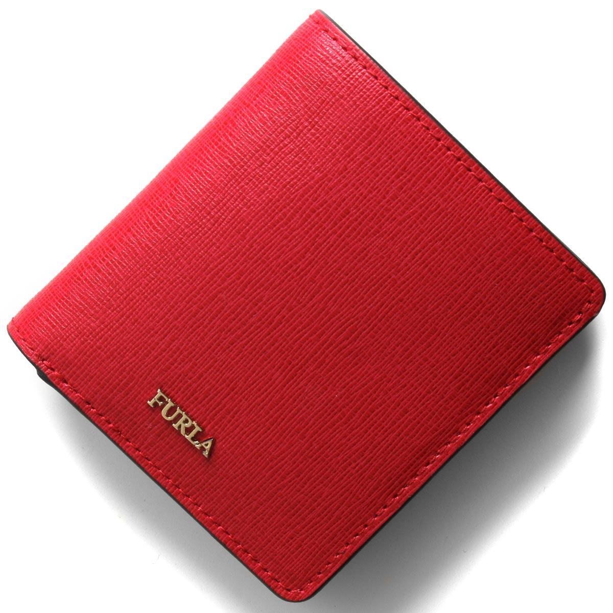 フルラ 二つ折り財布/ミニ財布 財布 レディース バビロン スモール ルビーレッド PR74 B30 RUB 871001 FURLA