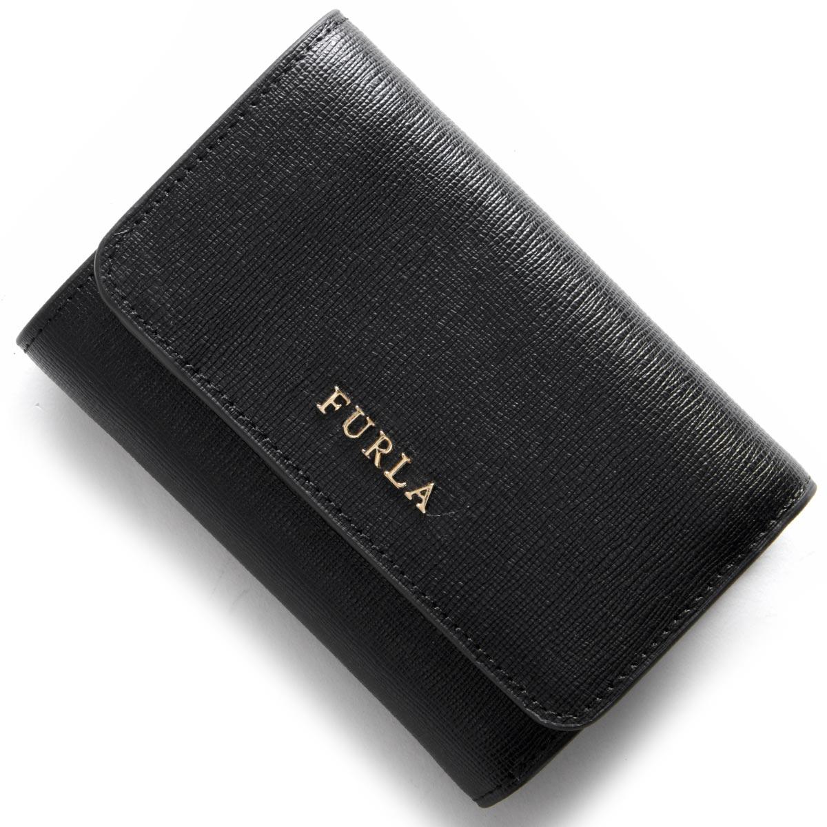 フルラ 三つ折り財布 財布 レディース バビロン BABYLON ブラック PR76 B30 O60 872817 FURLA