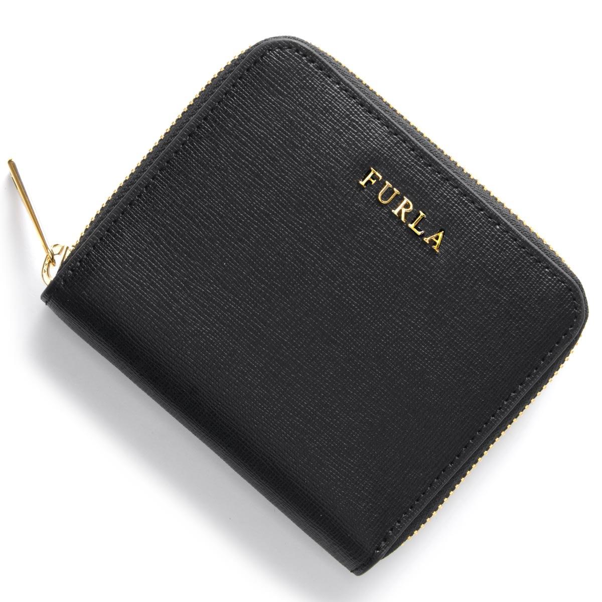 フルラ 二つ折り財布 財布 レディース バビロン BABYLON ブラック PR84 B30 O60 907856 FURLA