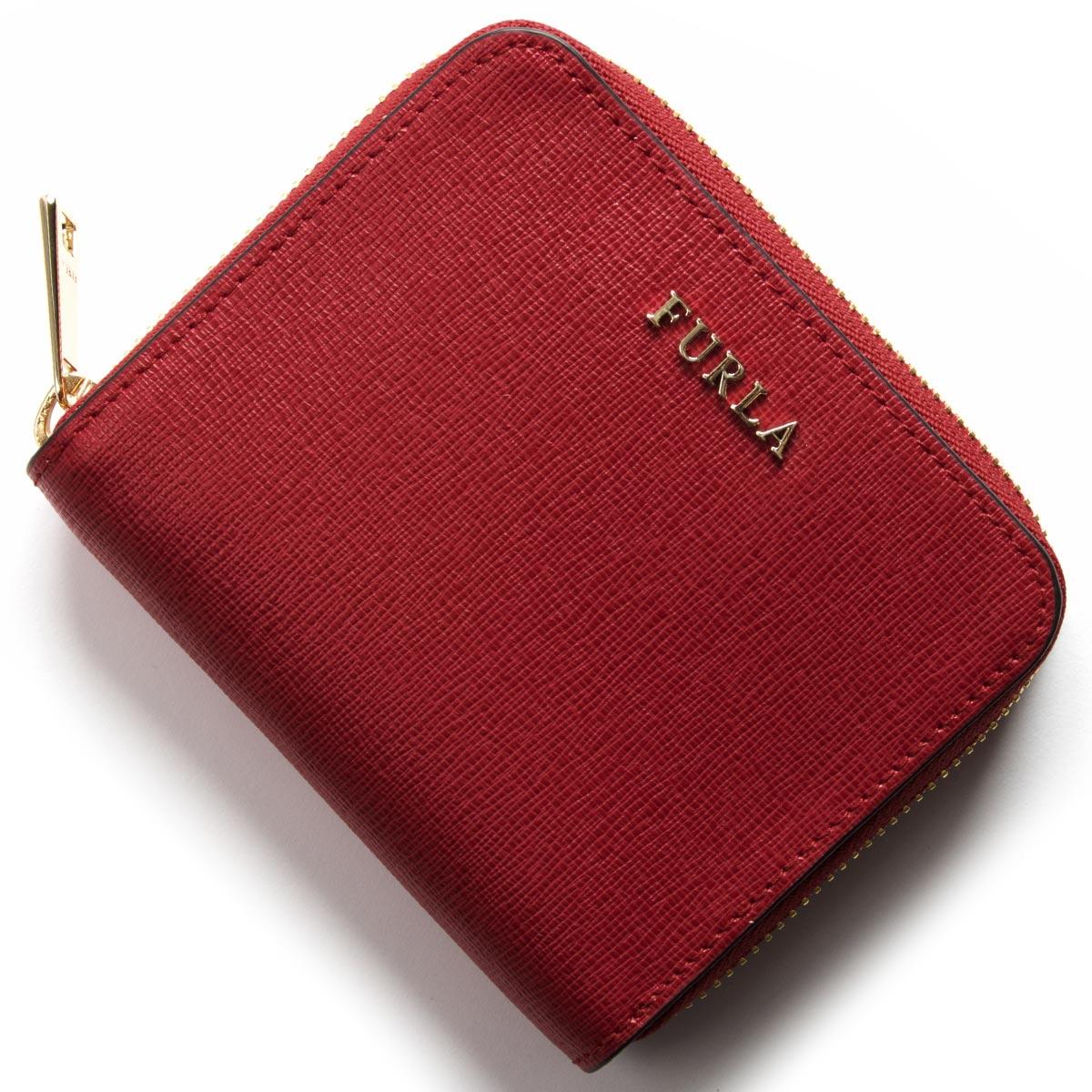 フルラ 二つ折り財布 財布 レディース バビロン BABYLON ルビーレッド PR84 B30 RUB 908289 FURLA