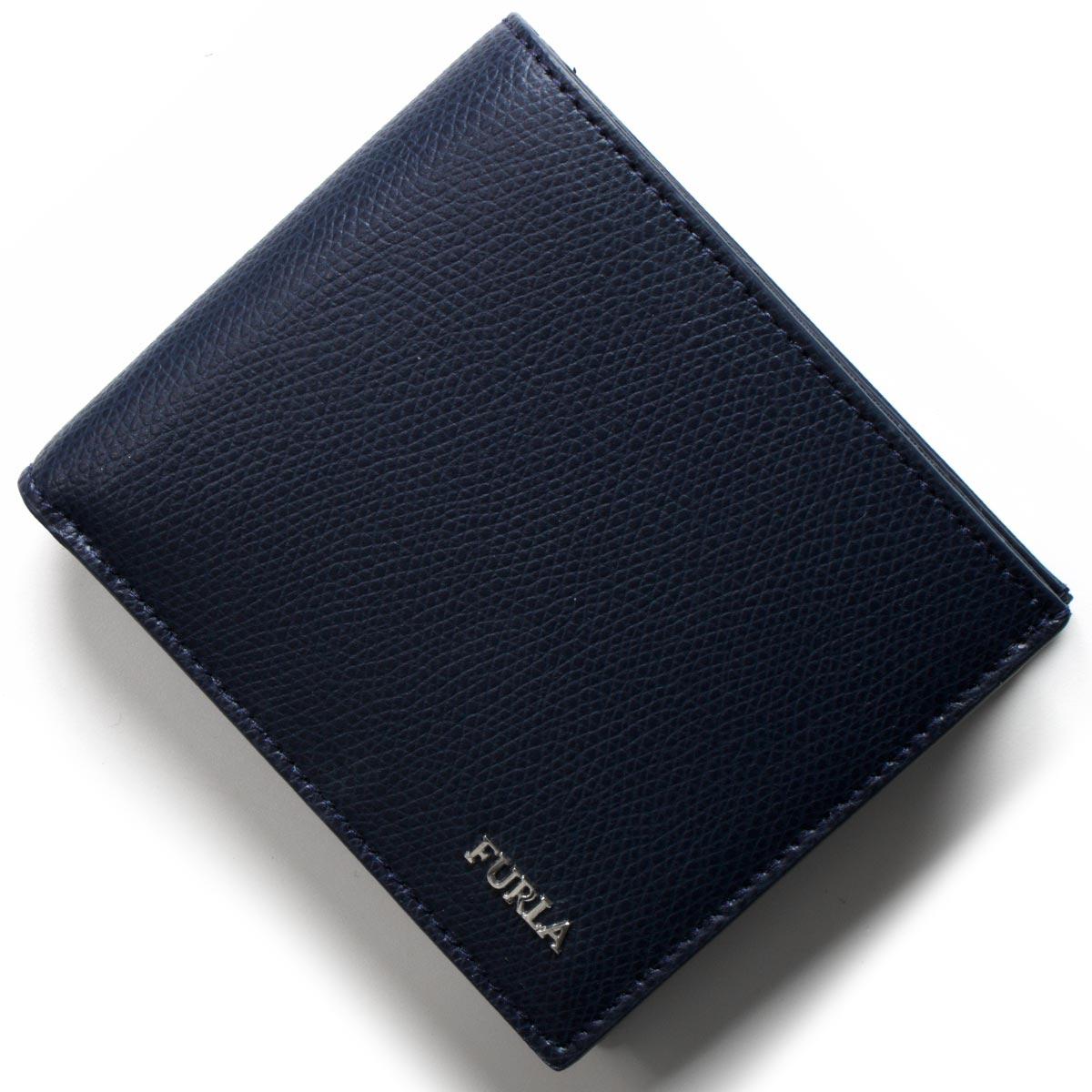 【最大3万円割引クーポン 11/01~】フルラ 二つ折り財布 財布 メンズ マルテ ブルー PT00 ATT B1U FURLA