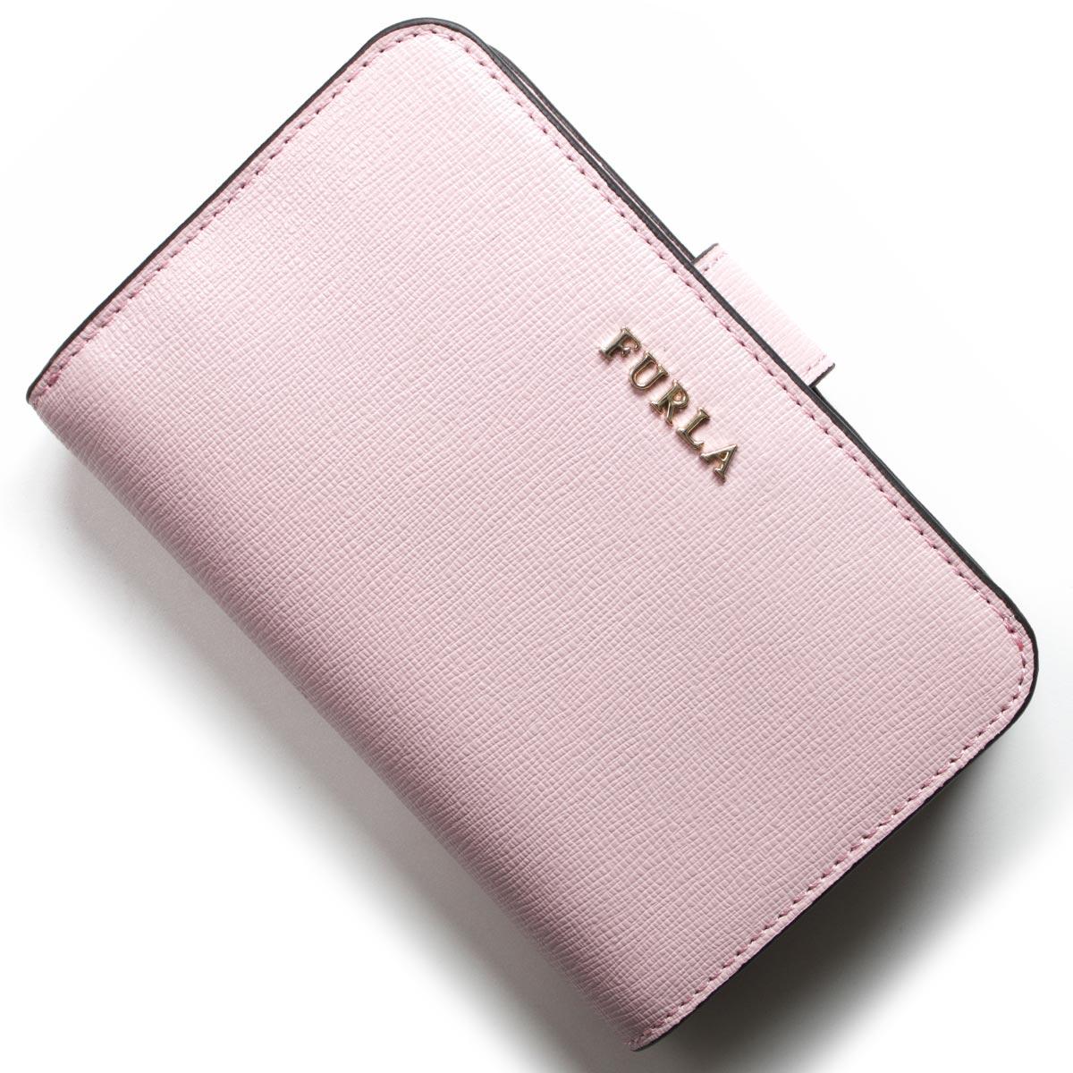 フルラ 二つ折り財布 財布 レディース バビロン カメリアピンク PR85 B30 LC4 962981 FURLA
