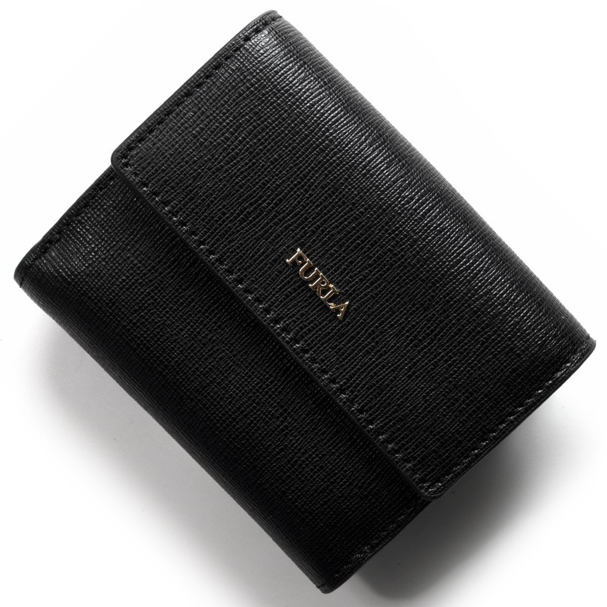 フルラ 二つ折り財布 財布 レディース バビロン スモール ブラック PZ10 B30 O60 963513 FURLA