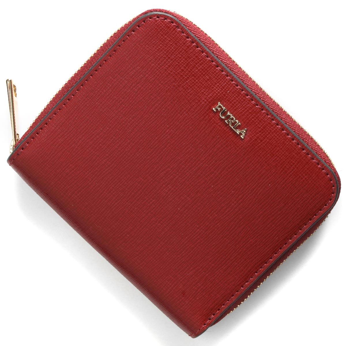 フルラ 二つ折り財布 財布 レディース バビロン スモール チリエージャレッド PR84 B30 CGQ 979026 FURLA