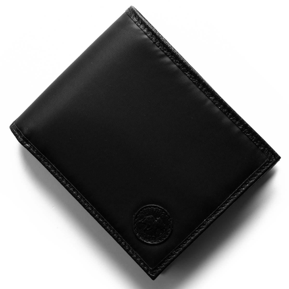 ハンティングワールド 二つ折り財布【札入れ】 財布 メンズ バチュー サーパス ブラック 320 13A HUNTING WORLD