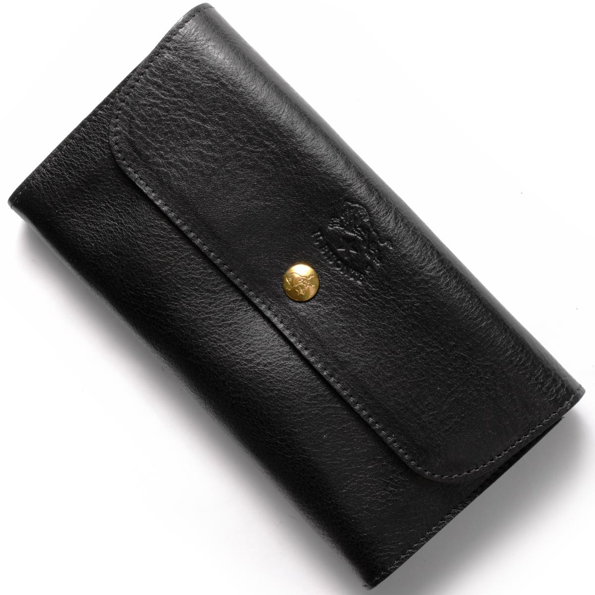 イルビゾンテ 長財布 財布 メンズ レディース スタンダード STANDARD ブラック C0842 P 153 IL BISONTE