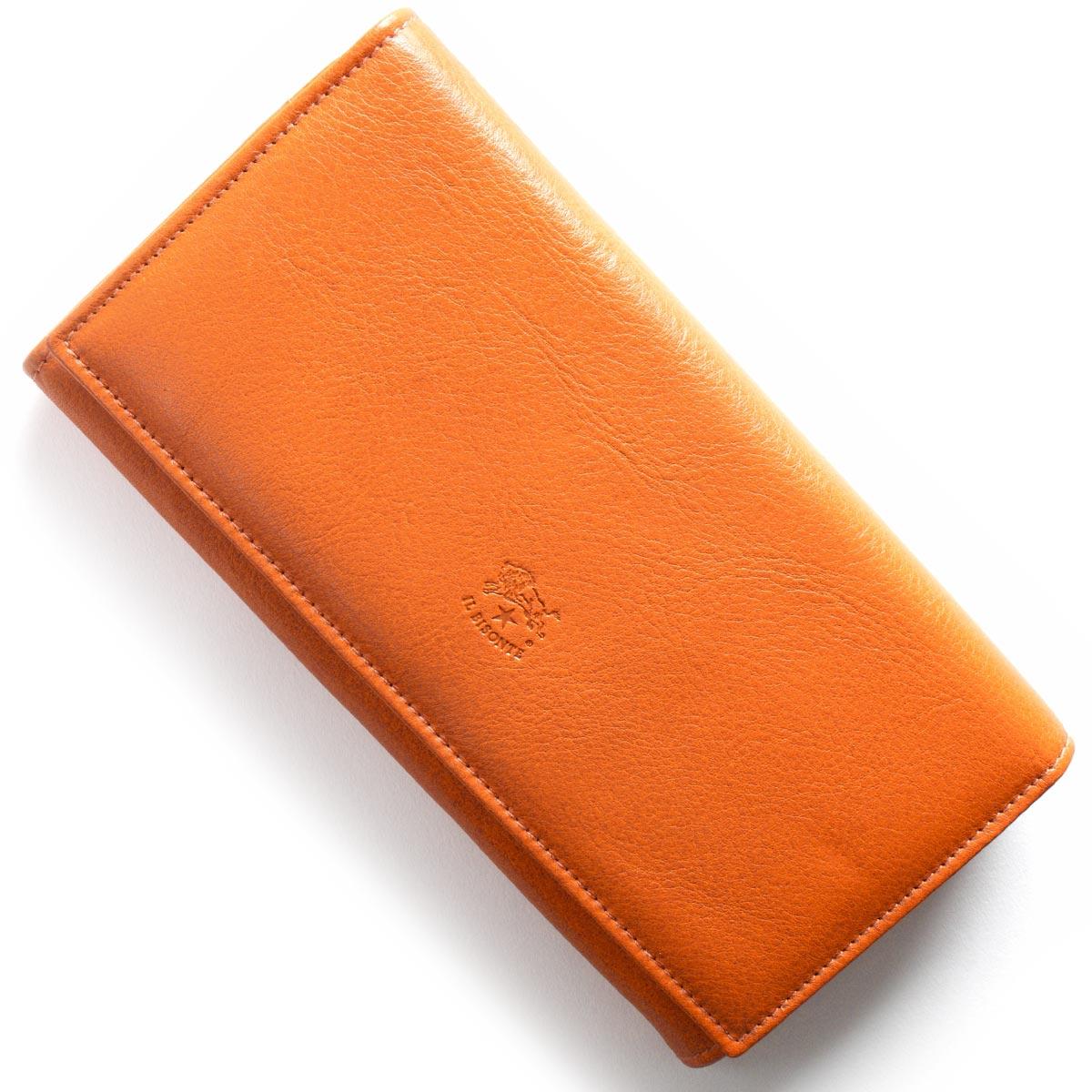 イルビゾンテ 長財布 財布 メンズ レディース スタンダード STANDARD オレンジ C0989 P 166 IL BISONTE