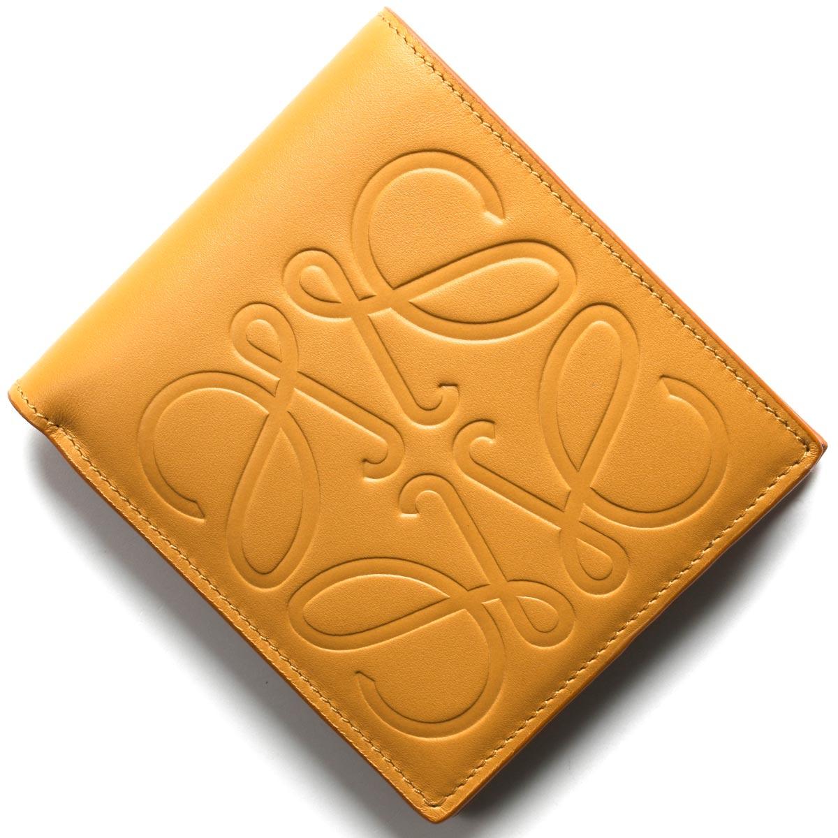 ロエベ 二つ折り財布【札入れ】 財布 メンズ ブランド ハニーブラウン 106 A302 54 3160 2020年春夏新作 LOEWE
