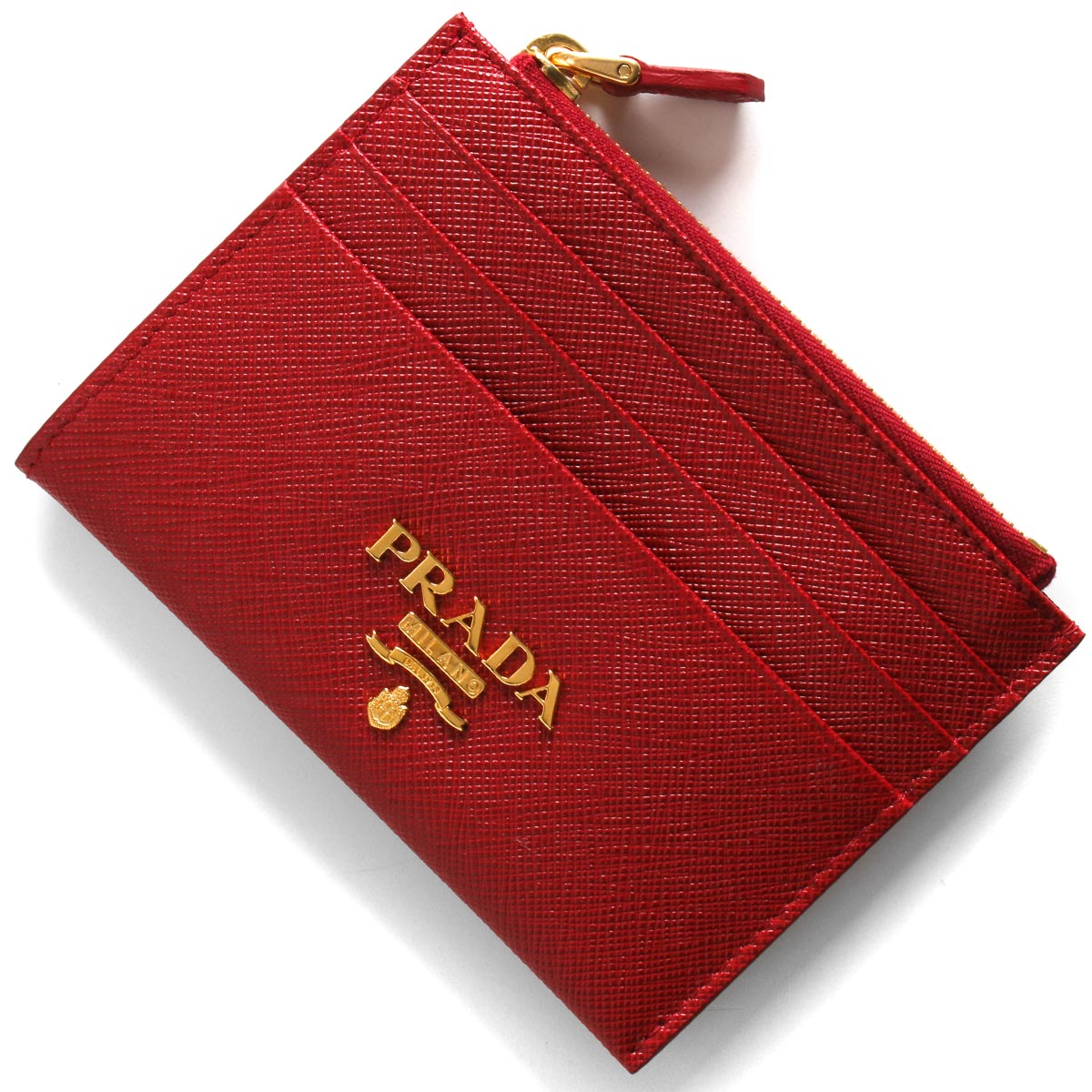 [送料無料]プラダ PRADA 財布 コインケース【小銭入れ】 1MC026 QWA F068Z 【新品】 プラダ コインケース【小銭入れ】/クレジットカードケース 財布 レディース サフィアーノ メタル フォーコレッド 1MC026 QWA F068Z PRADA