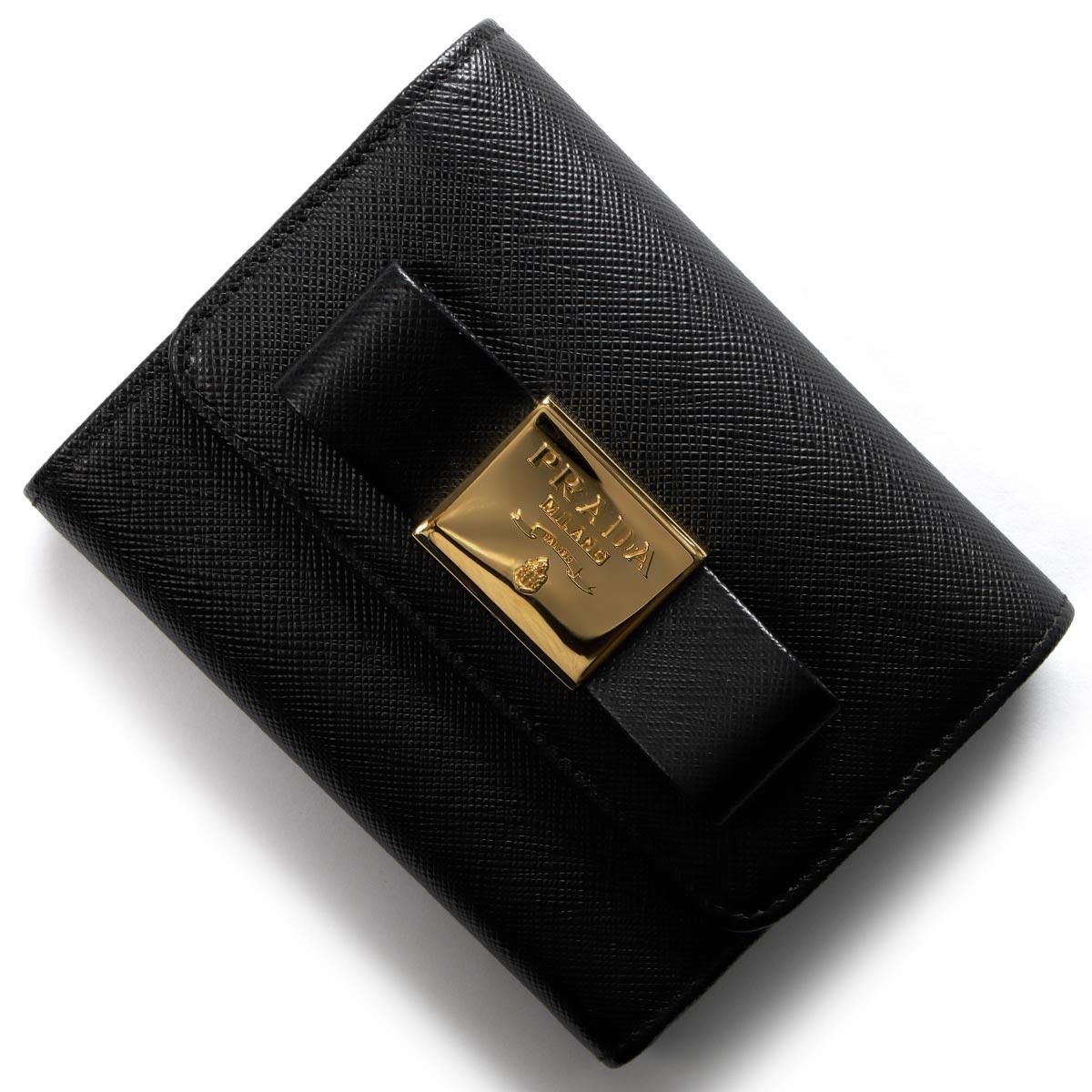1a9cc4fb66d4 1,000円OFFクーポン対象】プラダ 三つ折り財布 財布 レディース ...