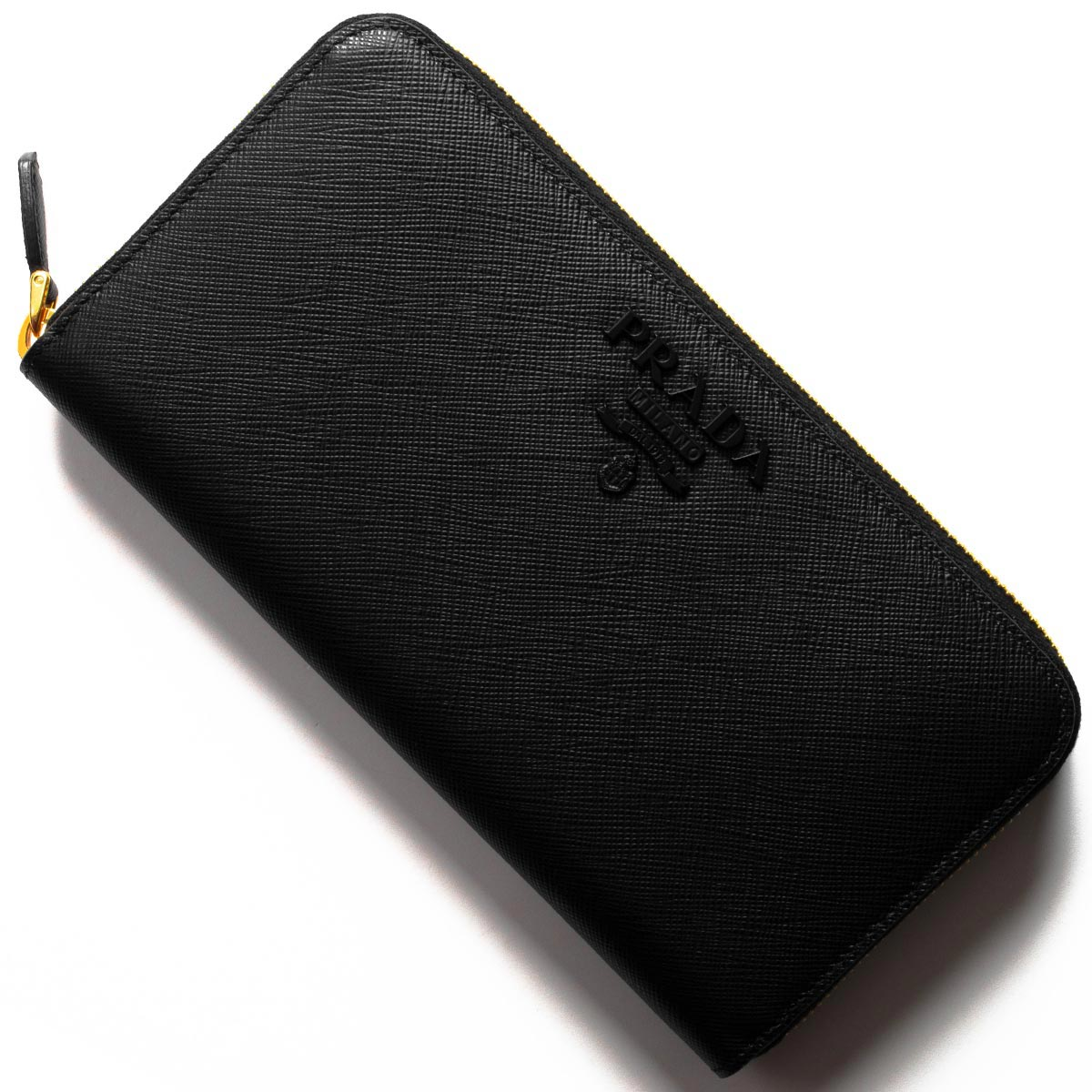 プラダ 長財布 財布 レディース サフィアーノ シャイン ブラック 1ML506 2EBW F0002 PRADA