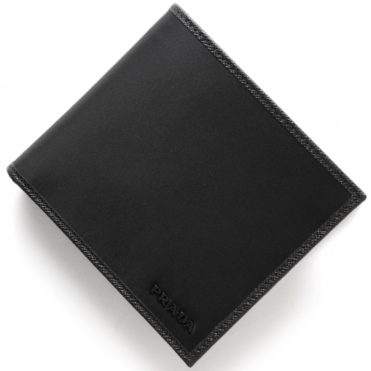 プラダ 二つ折り財布 財布 メンズ SAFFIANO ブラック 2MO738 074 F0002 PRADA