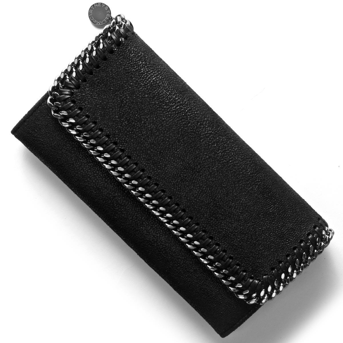 ステラマッカートニー 長財布 財布 レディース ファラベラ FALABELLA ブラック 430999 W9132 1000 STELLA McCARTHNEY