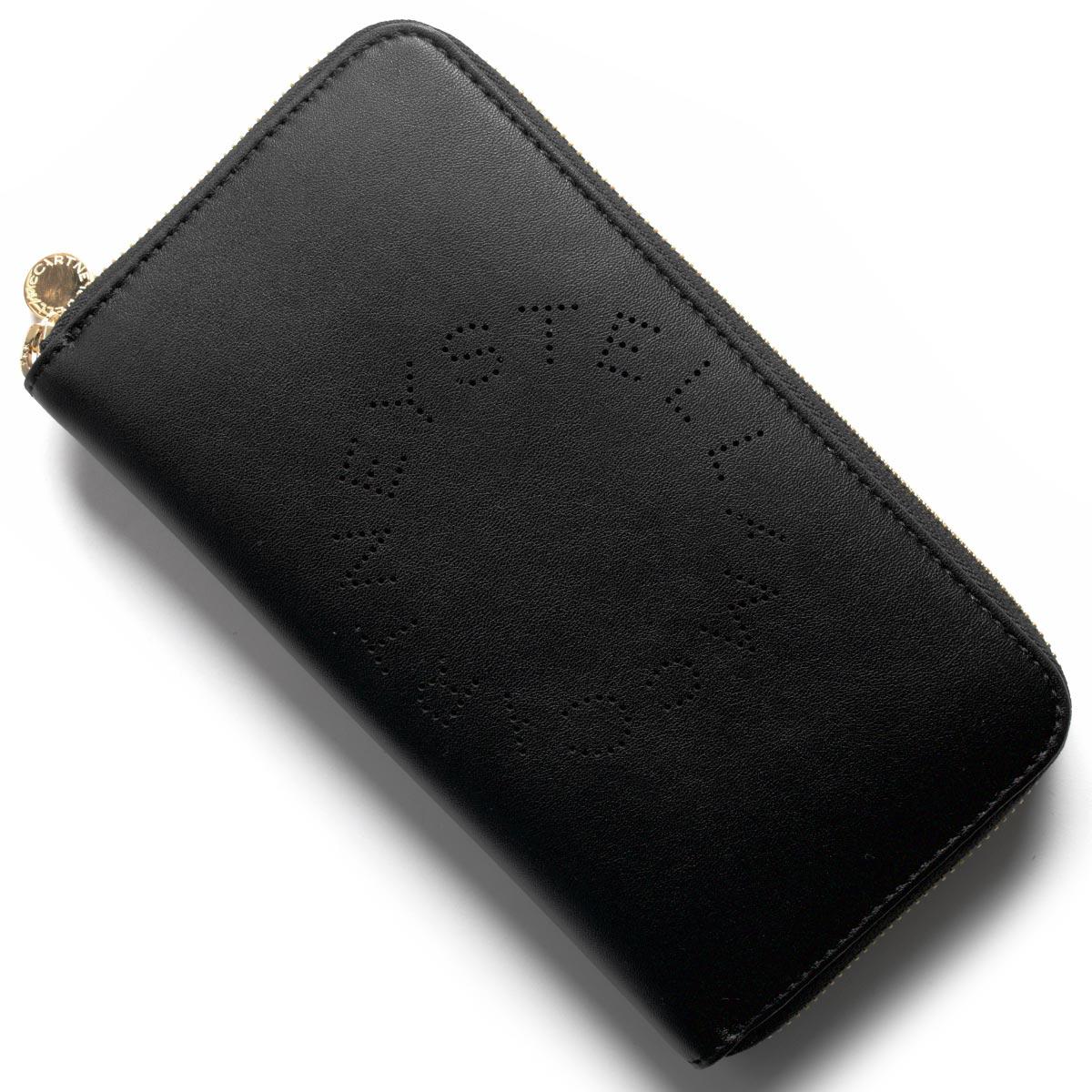 ステラマッカートニー 長財布 財布 レディース ステラ ロゴ ブラック 502893 W9923 1000 STELLA McCARTHNEY