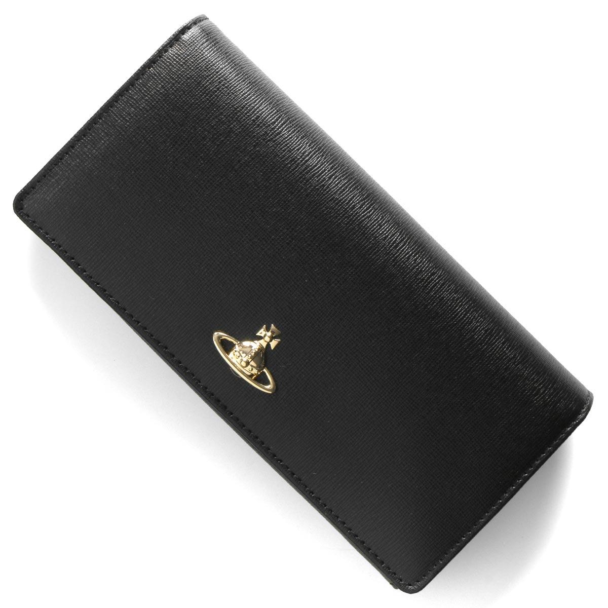 ヴィヴィアンウエストウッド 長財布 財布 レディース ヴィクトリア クラシック オーブ ブラック 51060025 40565 N401 VIVIENNE WESTWOOD