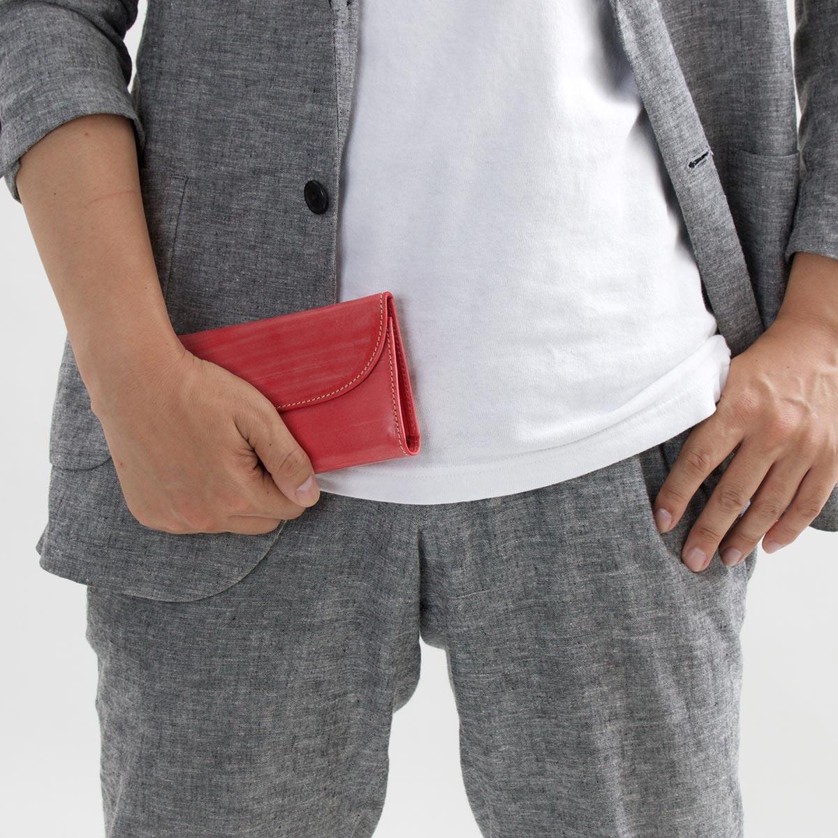 ホワイトハウスコックス 三つ折り財布 財布 メンズ エイジング レッド S1112 RED WHITEHOUSE COXeIEH2YbWD9