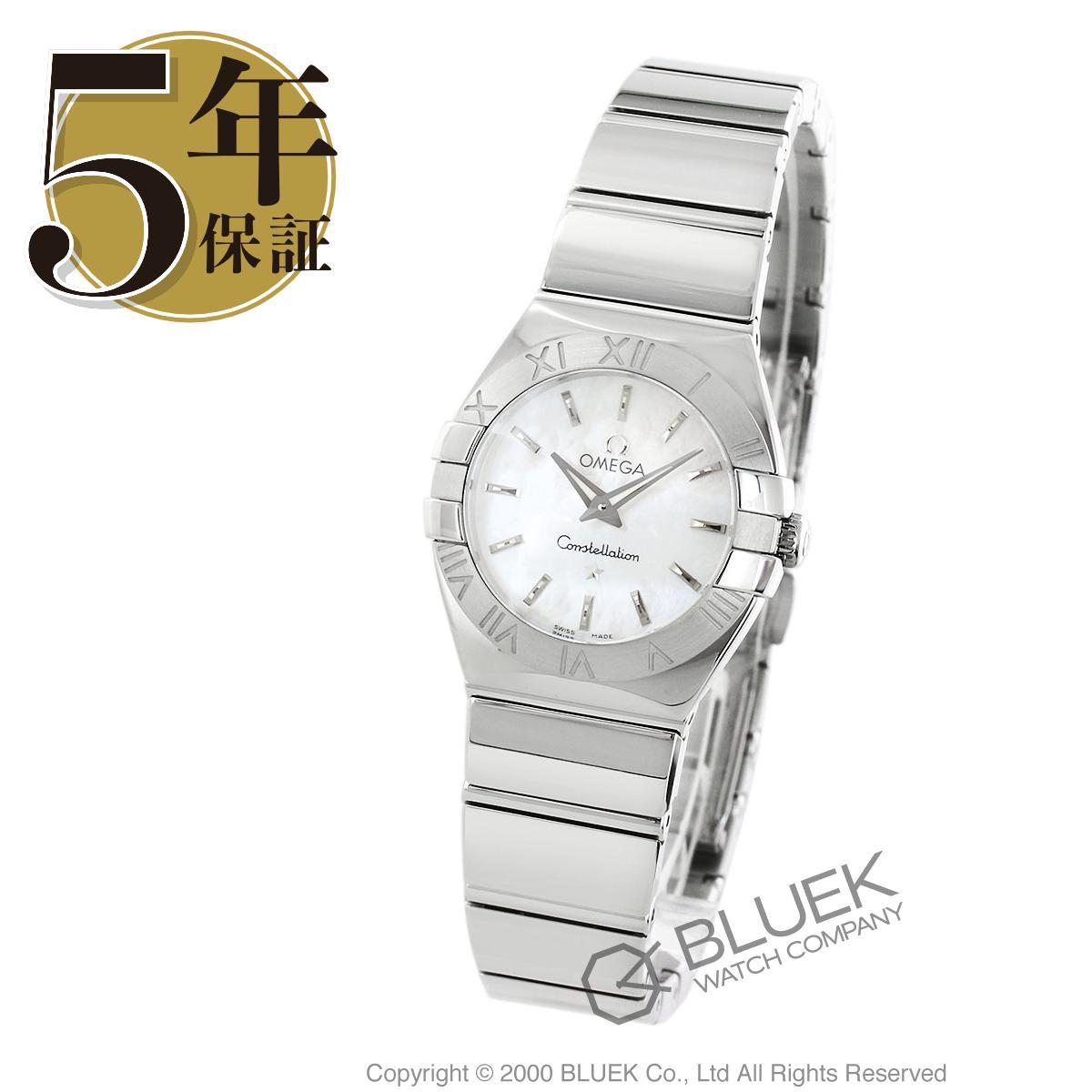 オメガ コンステレーション ポリッシュ 腕時計 レディース OMEGA 123.10.24.60.05.002_5:ブルークウォッチカンパニー