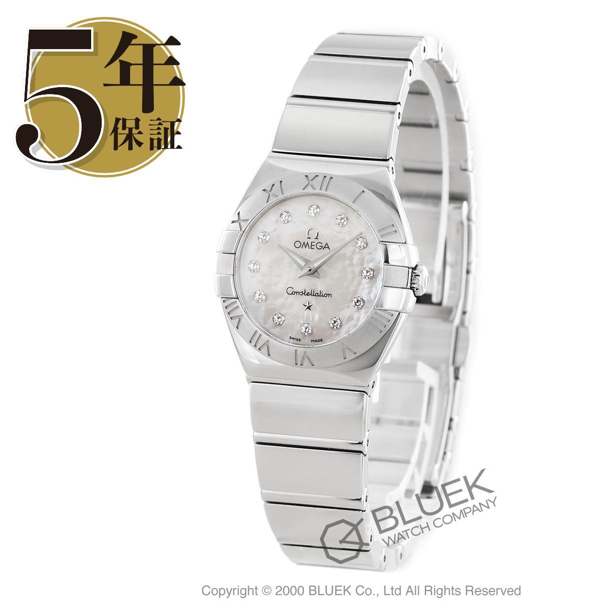 オメガ コンステレーション ポリッシュ ダイヤ 腕時計 レディース OMEGA 123.10.24.60.55.002_5