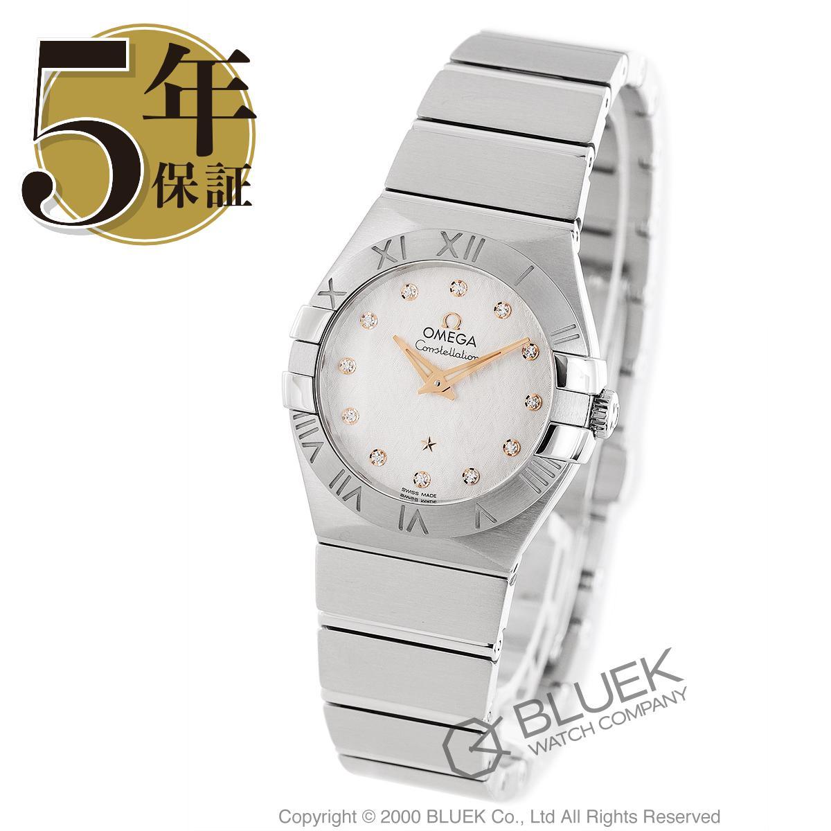 オメガ コンステレーション ダイヤ 腕時計 レディース OMEGA 123.10.27.60.52.001_5