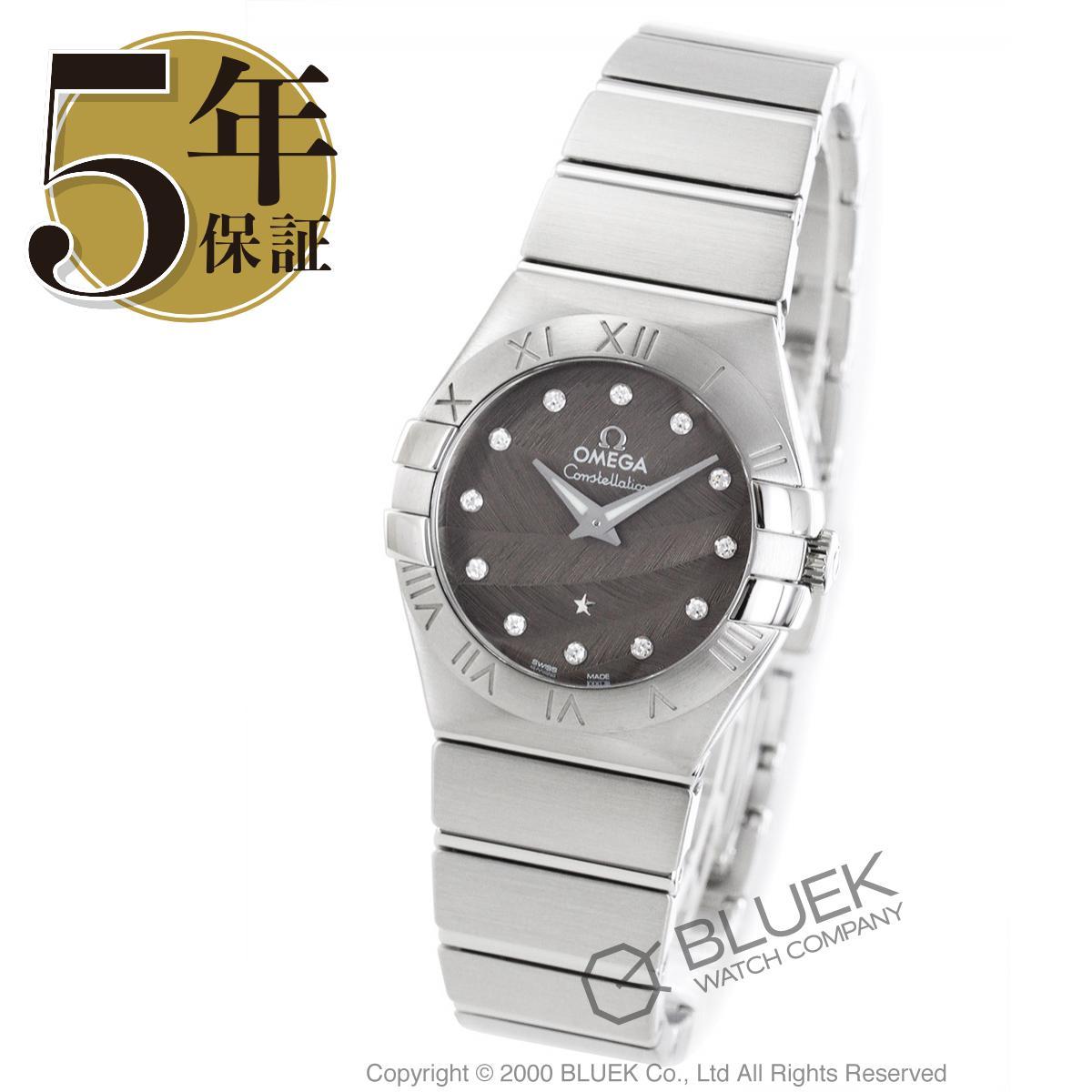 オメガ コンステレーション ブラッシュ ダイヤ 腕時計 レディース OMEGA 123.10.27.60.56.001_8