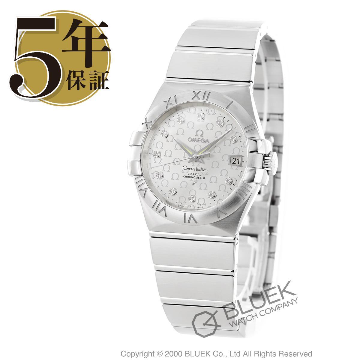 オメガ コンステレーション ブラッシュ ダイヤ 腕時計 メンズ OMEGA 123.10.35.20.52.002_8