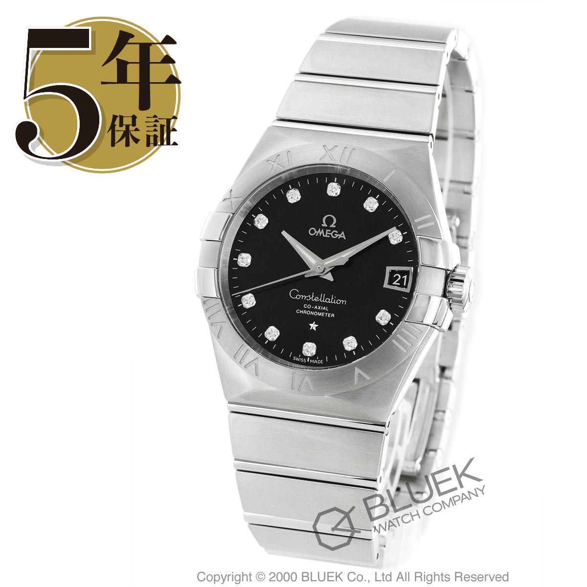 オメガ コンステレーション ブラッシュ ダイヤ 腕時計 メンズ OMEGA 123.10.38.21.51.001_8 バーゲン 成人祝い ギフト プレゼント