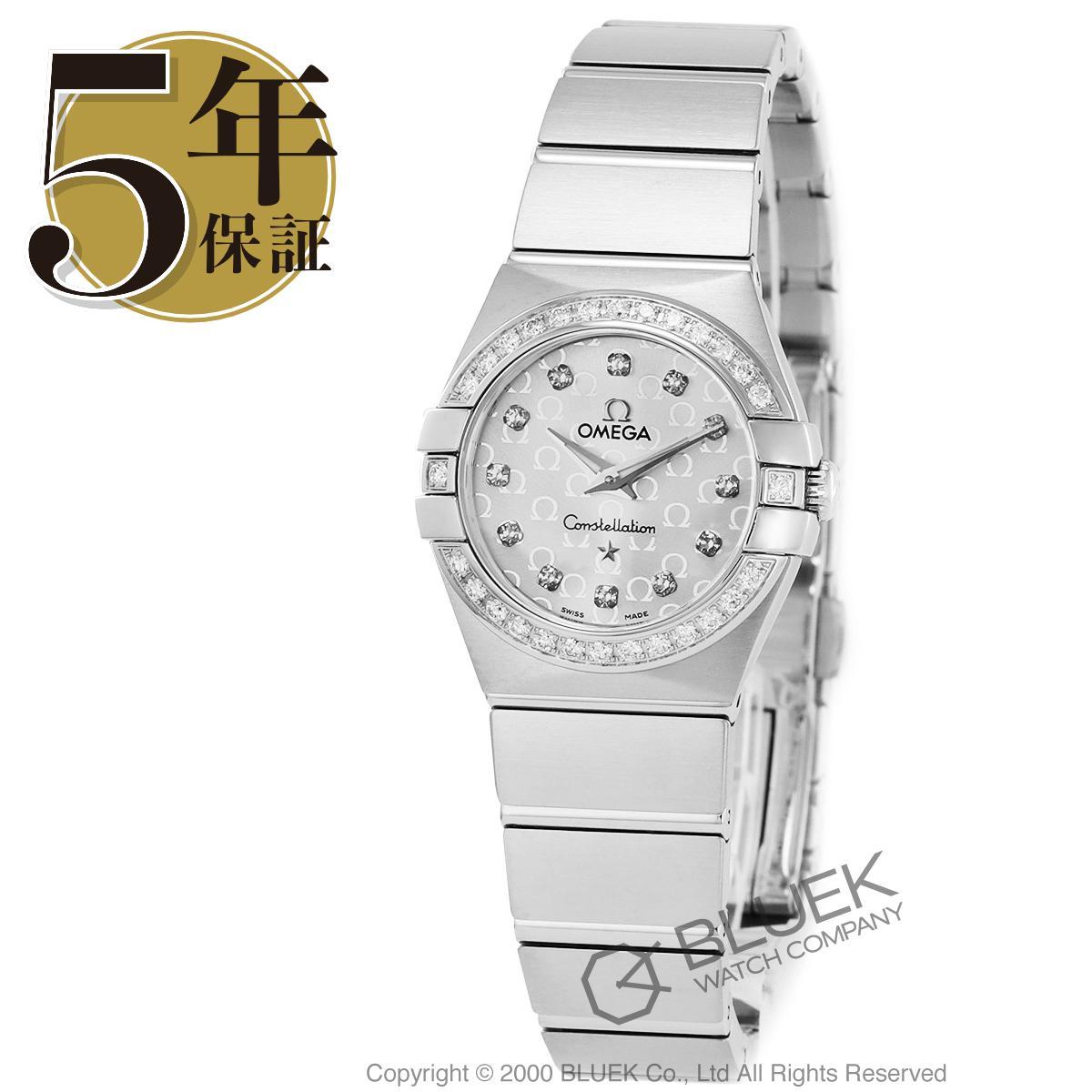 オメガ コンステレーション ブラッシュ ダイヤ 腕時計 レディース OMEGA 123.15.24.60.52.001_5