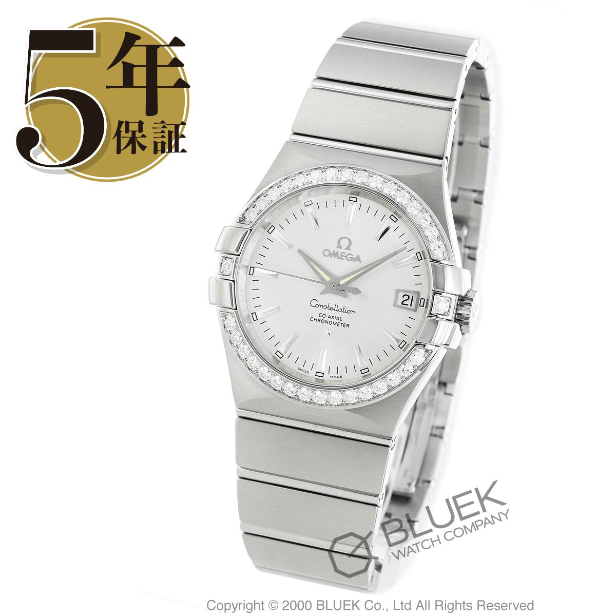 オメガ コンステレーション ブラッシュ ダイヤ 腕時計 ユニセックス OMEGA 123.15.35.20.02.001_8