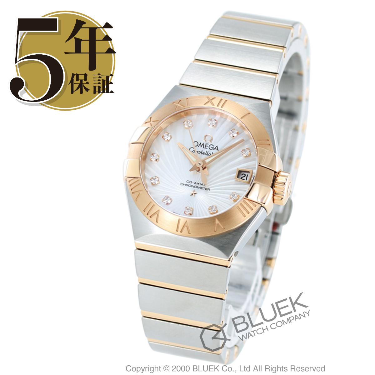 オメガ コンステレーション ブラッシュ ダイヤ 腕時計 レディース OMEGA 123.20.27.20.55.001_5