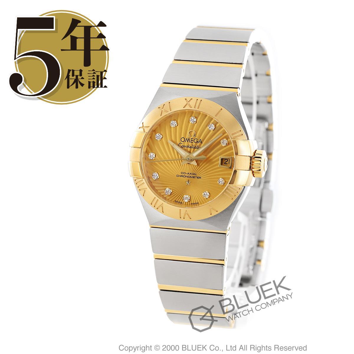 オメガ コンステレーション ブラッシュ ダイヤ 腕時計 レディース OMEGA 123.20.27.20.58.001_5