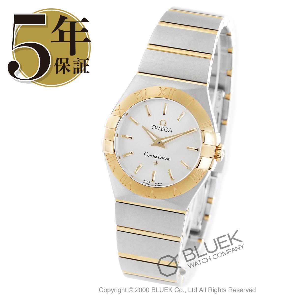 オメガ コンステレーション ブラッシュ 腕時計 レディース OMEGA 123.20.27.60.02.002_5