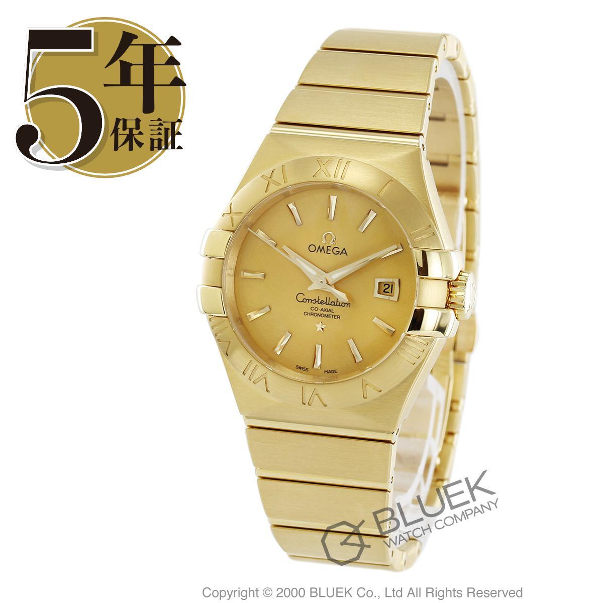 オメガ コンステレーション ブラッシュ YG金無垢 腕時計 レディース OMEGA 123.50.31.20.08.001_8