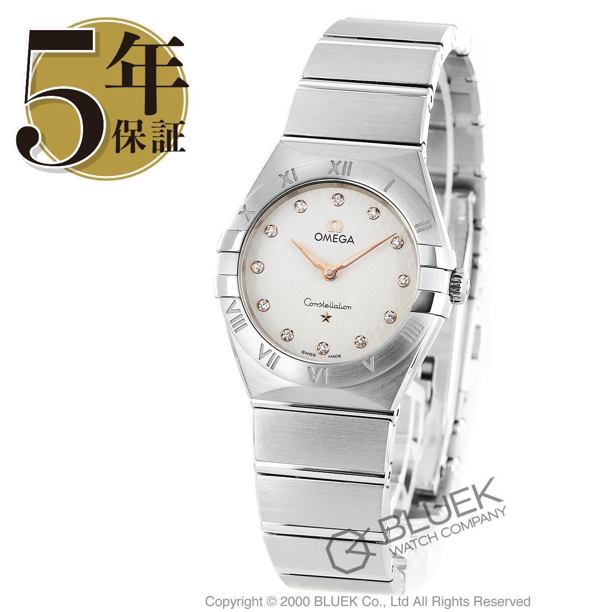 オメガ コンステレーション マンハッタン ダイヤ 腕時計 レディース OMEGA 131.10.28.60.52.001_8