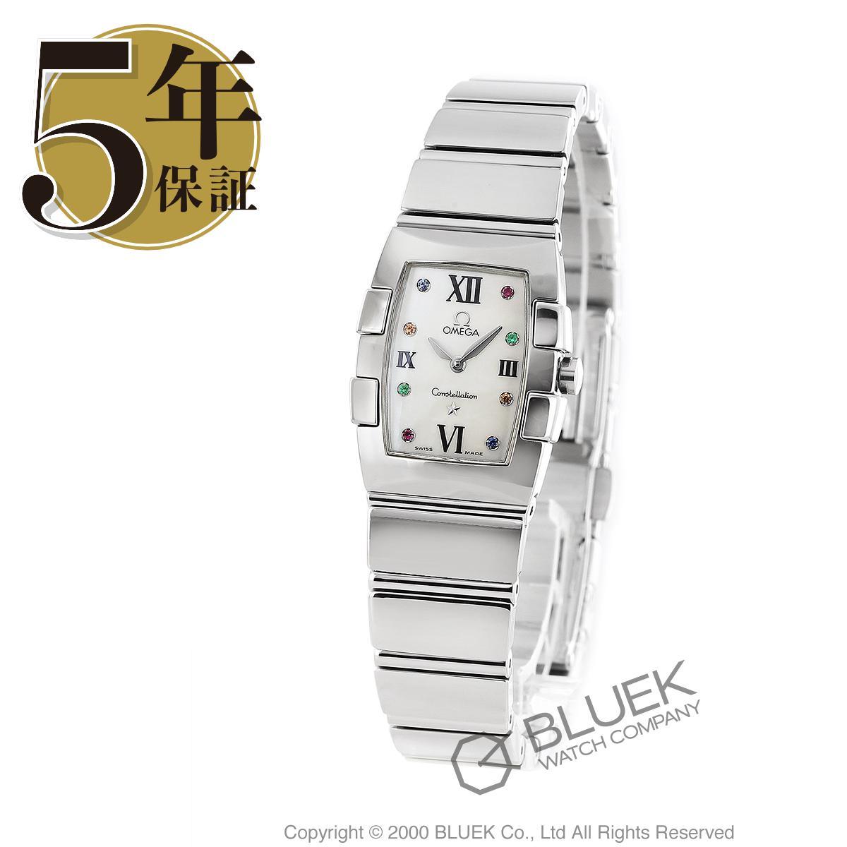 オメガ コンステレーション クアドレラ 腕時計 レディース OMEGA 1584.79_5