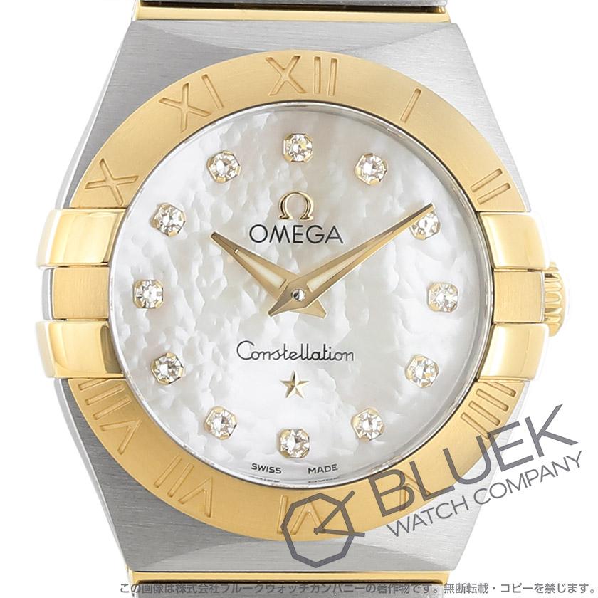 オメガ コンステレーション ブラッシュ ダイヤ 腕時計 レディース OMEGA 123.20.24.60.55.002_8
