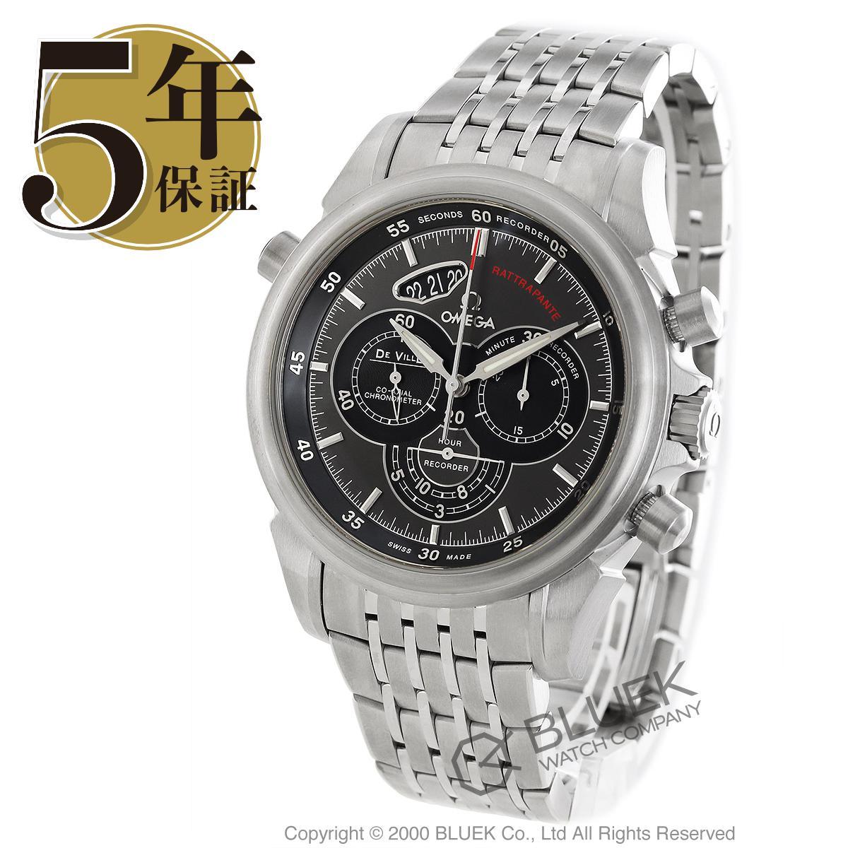 オメガ デビル コーアクシャル クロノスコープ ラトラパンテ クロノグラフ 腕時計 メンズ OMEGA 422.10.44.51.06.001_5