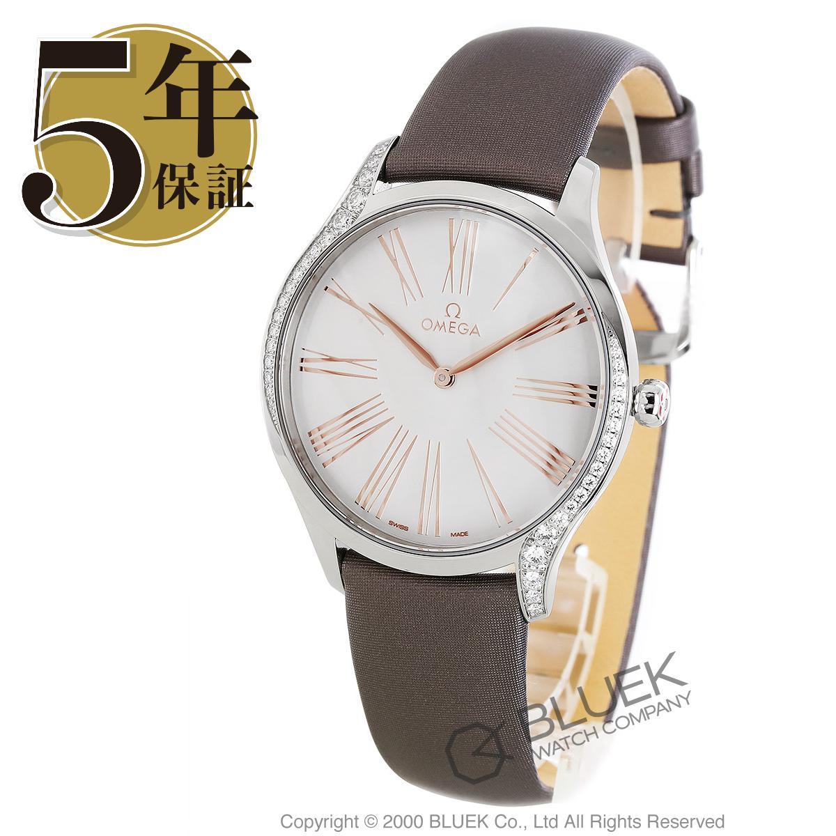 オメガ デビル トレゾア ダイヤ サテンレザー 腕時計 レディース OMEGA 428.17.39.60.02.001_5