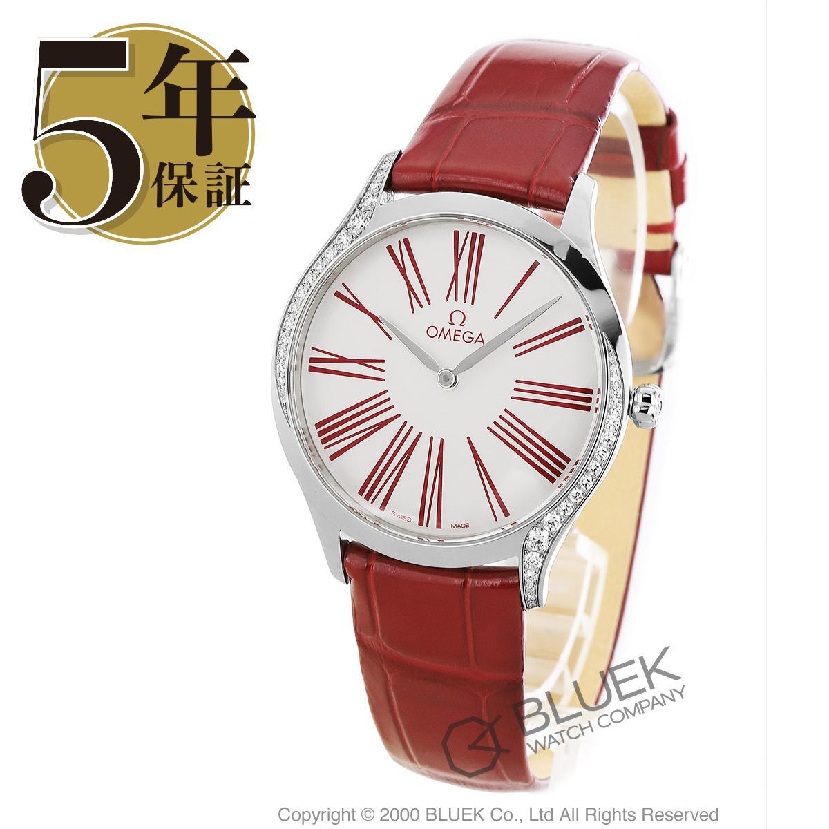 オメガ デビル トレゾア ダイヤ アリゲーターレザー 腕時計 レディース OMEGA 428.18.36.60.04.002_5