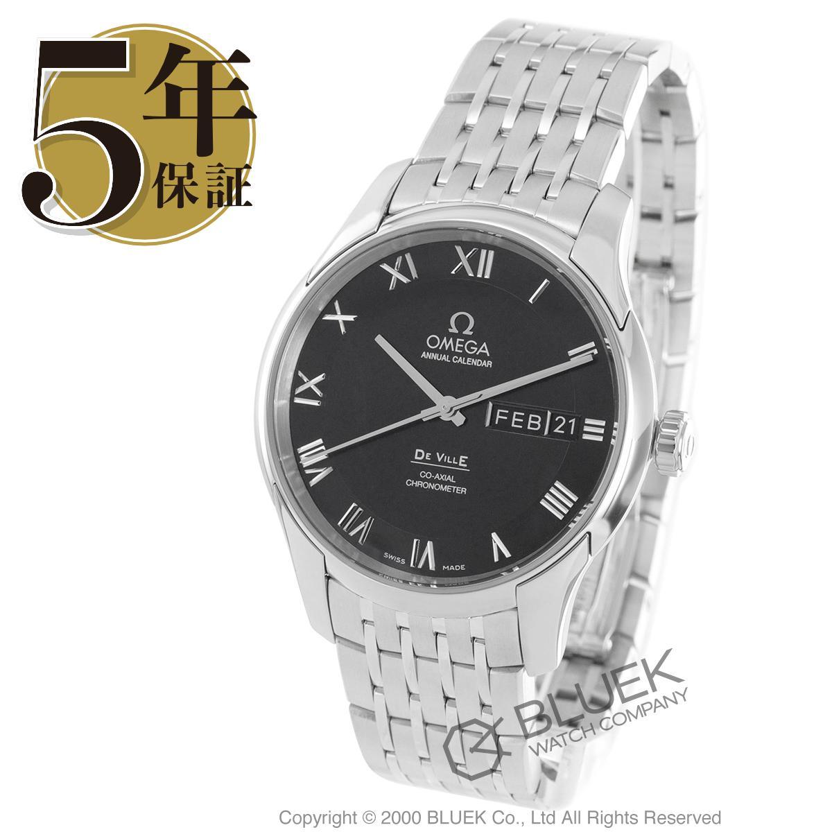 オメガ デビル アニュアルカレンダー 腕時計 メンズ OMEGA 431.10.41.22.01.001_5