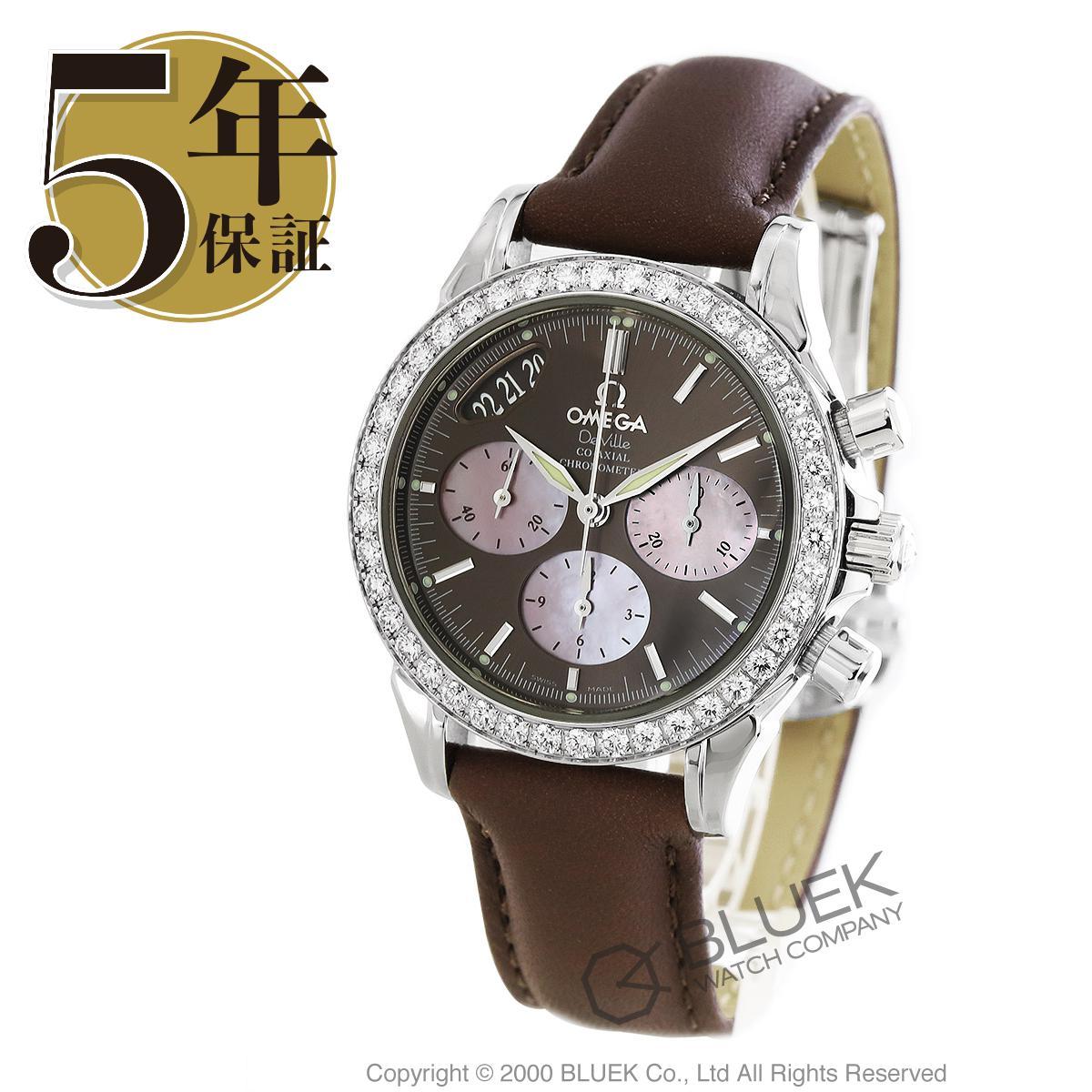 オメガ デビル クロノグラフ ダイヤ 腕時計 レディース OMEGA 4877.60.37_8
