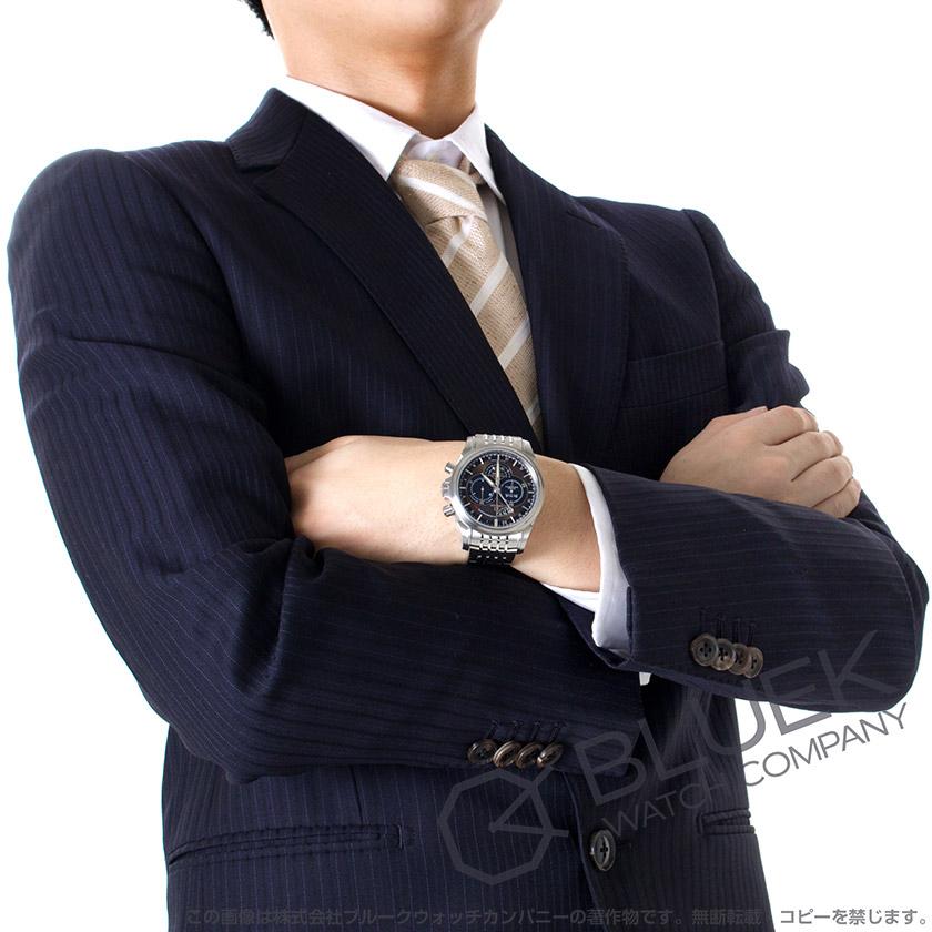 オメガデビルコーアクシャルクロノスコープ GMT brown & black men 422.10.44.52.13.001