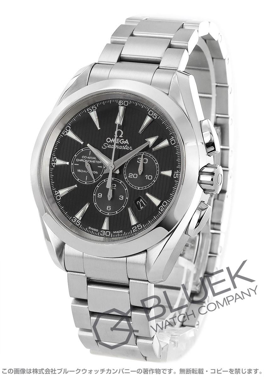 Omega Seamaster Aqua Terra chronometer co-axial chronograph black mens 231.10.44.50.01.001